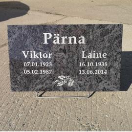 Hauaplaat (2 NIME + PILT + Saatmine üle Eesti)