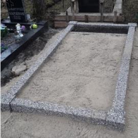 Pesubetoonist hauapiirded (urnid) 150x150cm