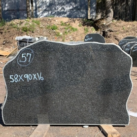 Hauakivi NR57- 58x90x16 cm- ainult materjal
