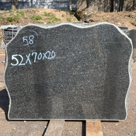 Hauakivi NR58- 52x70x20 cm - ainult materjal